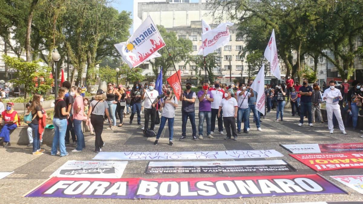 Centrais sindicais divulgam manifesto contra as crises e o desemprego