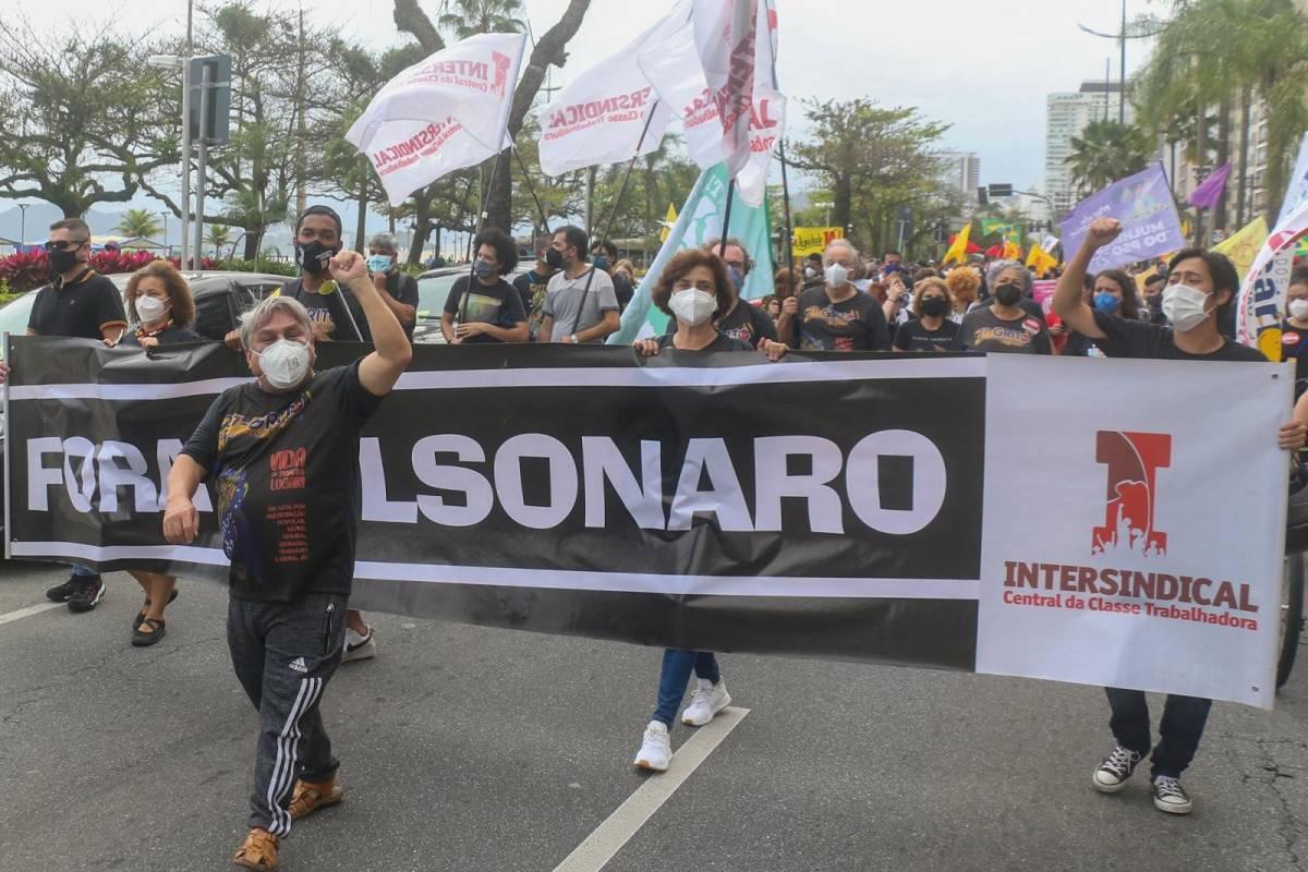 Fala golpista de Bolsonaro é crime de responsabilidade