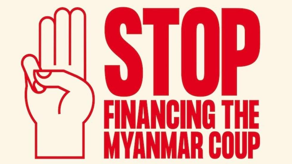 [UNI Global Union cobra que bancos retirem investimentos de empresas ligadas à junta militar de Mianmar]
