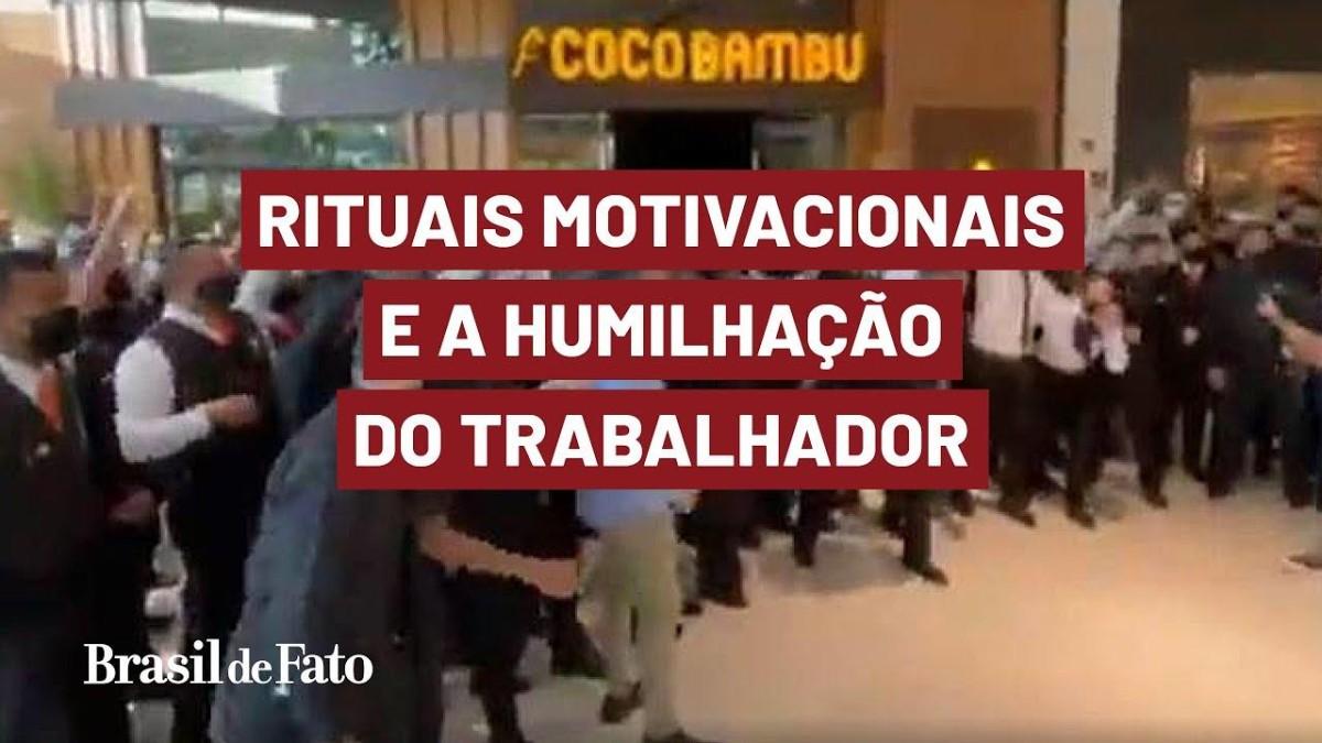Empresas adotam rituais motivacionais que expõem o trabalhador à humilhação
