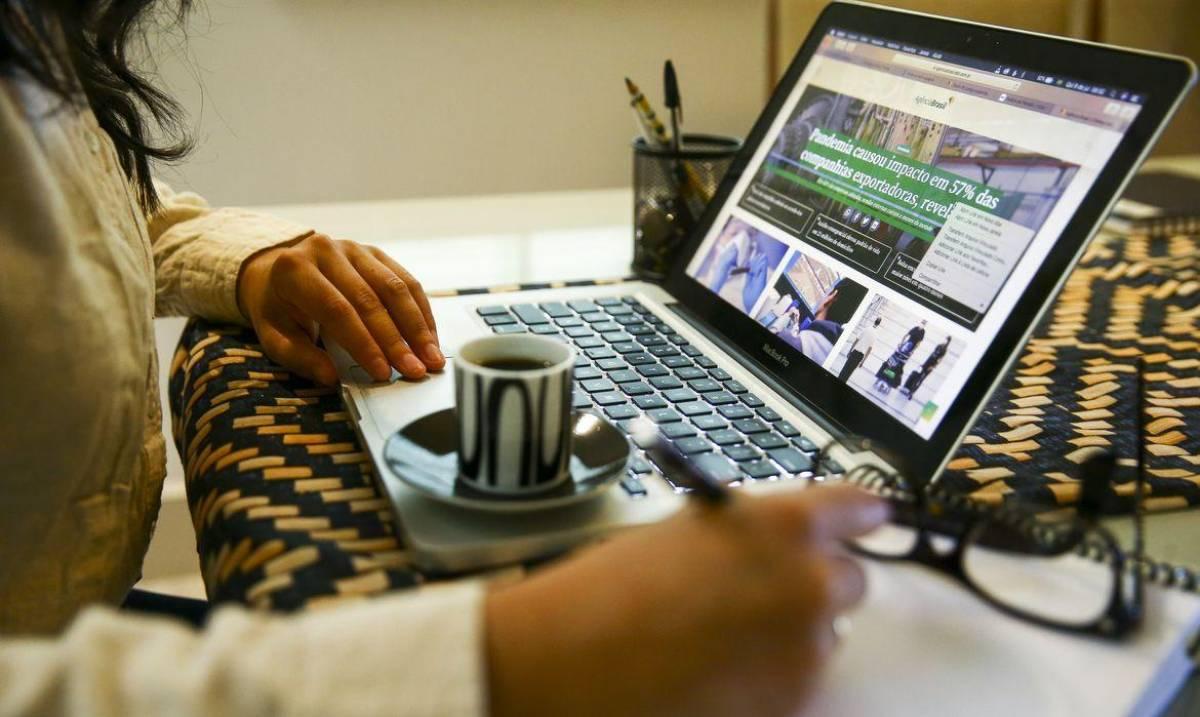 Home office é possível para menos de 1 em cada 5 trabalhadores no Brasil