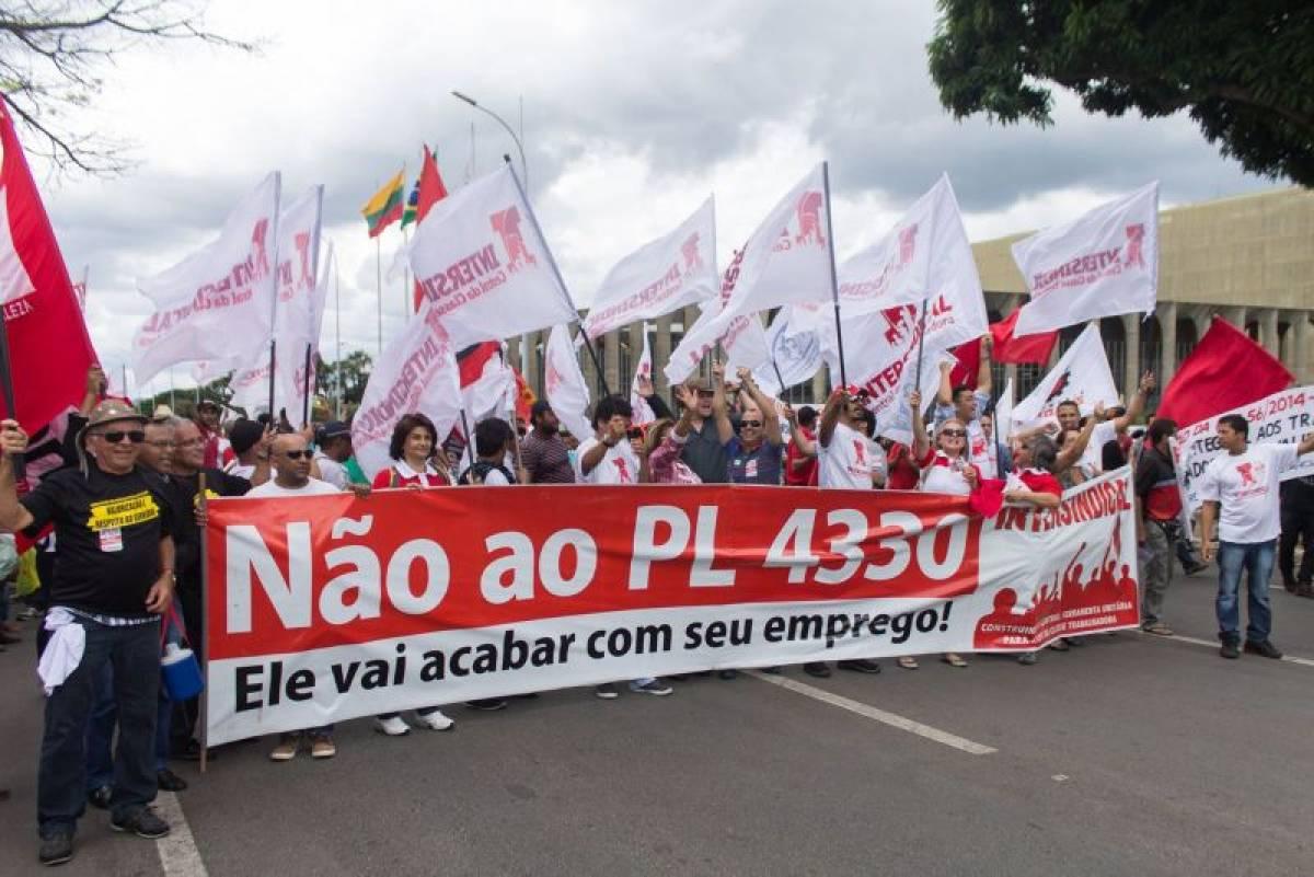 Para Justiça do Trabalho, PL 4330 é inconstitucional