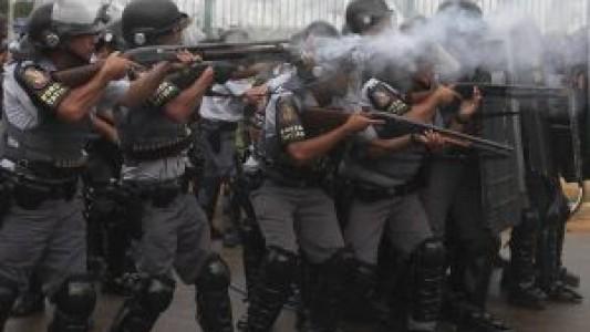 PM é responsável por uma em cada 5 mortes em São Paulo