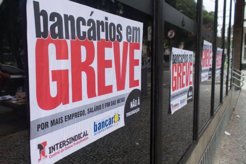 GREVE: banqueiros oferecem índice baixo e sem proteção ao emprego