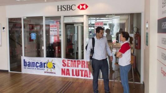 HSBC considera lucro de 2015 satisfatório, mas não quer pagar PLR
