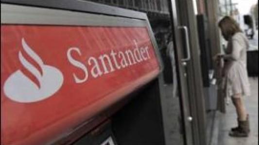 Santander segue com operações para tapar furo de 5,22 bilhões de euros