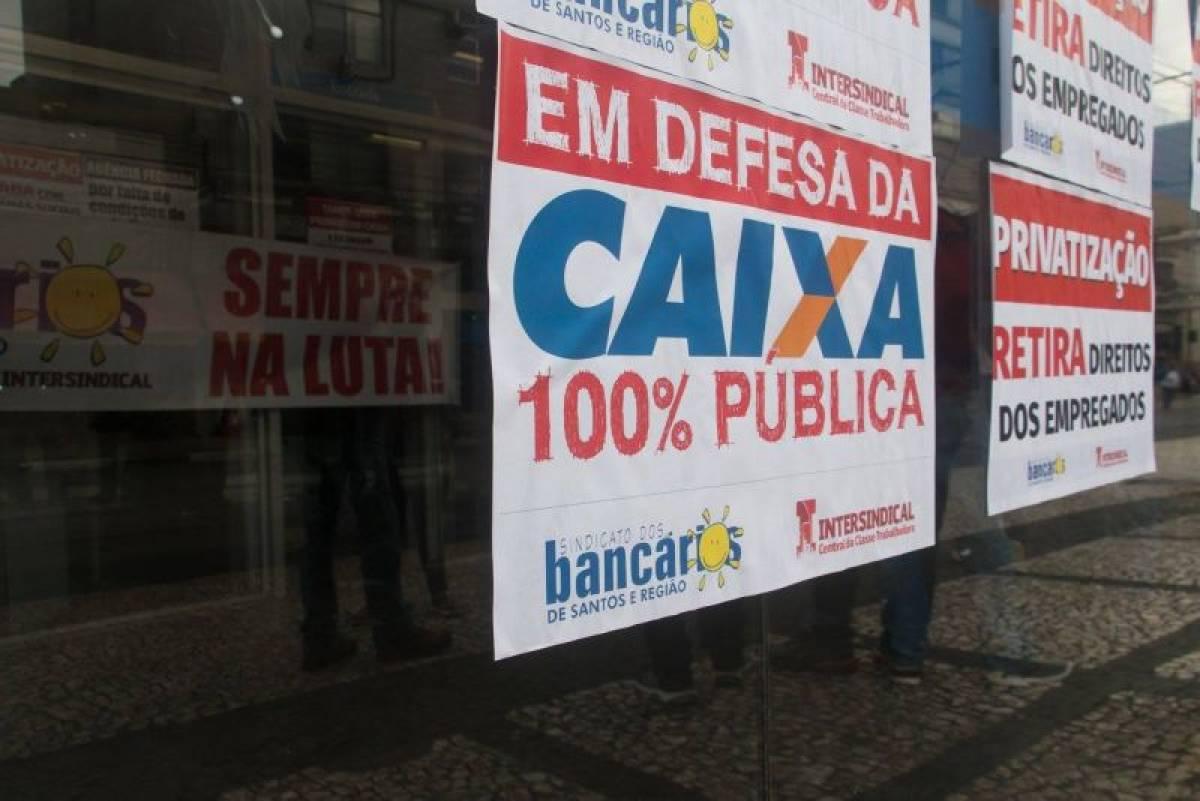 Bancários cobram em GT o FIM do CAIXA MINUTO