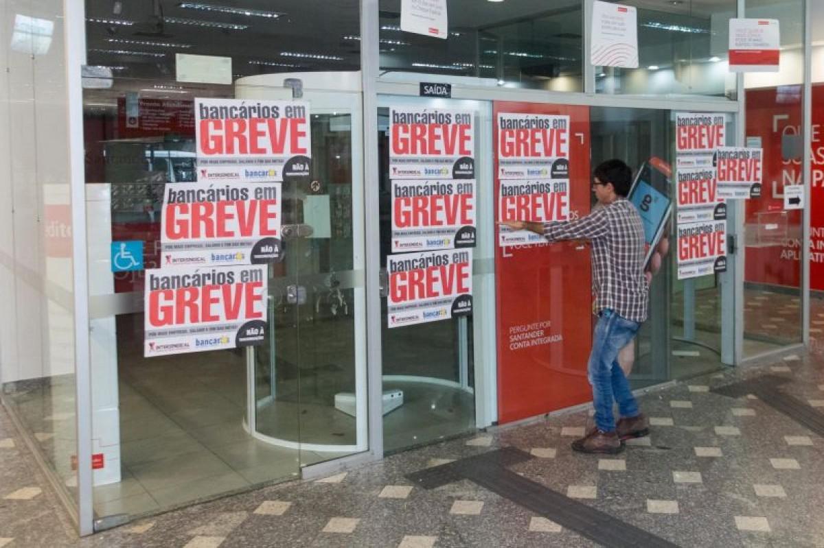 Atenção: Amanhã a Greve Nacional dos Bancários continua mais forte