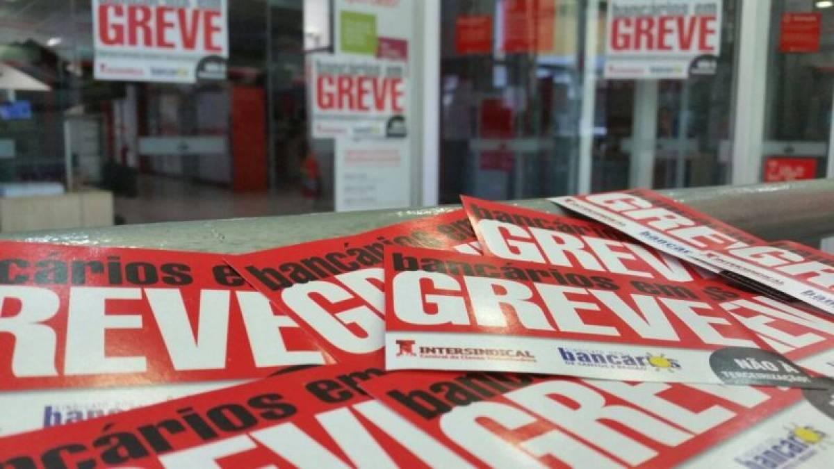 Os banqueiros são culpados pela GREVE