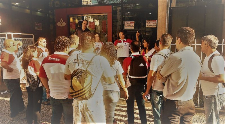 Negociação garante avanços no aditivo do Santander