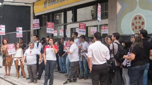 Bancários do BB fazem protesto nacional dia 7