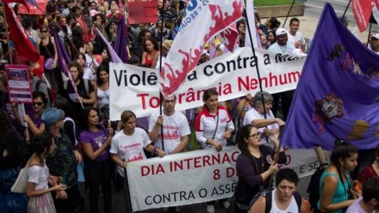 Neste 08 de março vamos às ruas por direitos, autonomia e contra o ajuste e conservadorismo!