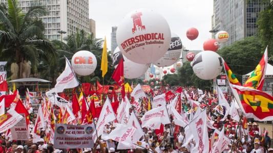 Intersindical participa do 1º de maio popular e de luta