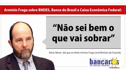 Armínio Fraga vem atuando como representante do capital estrangeiro