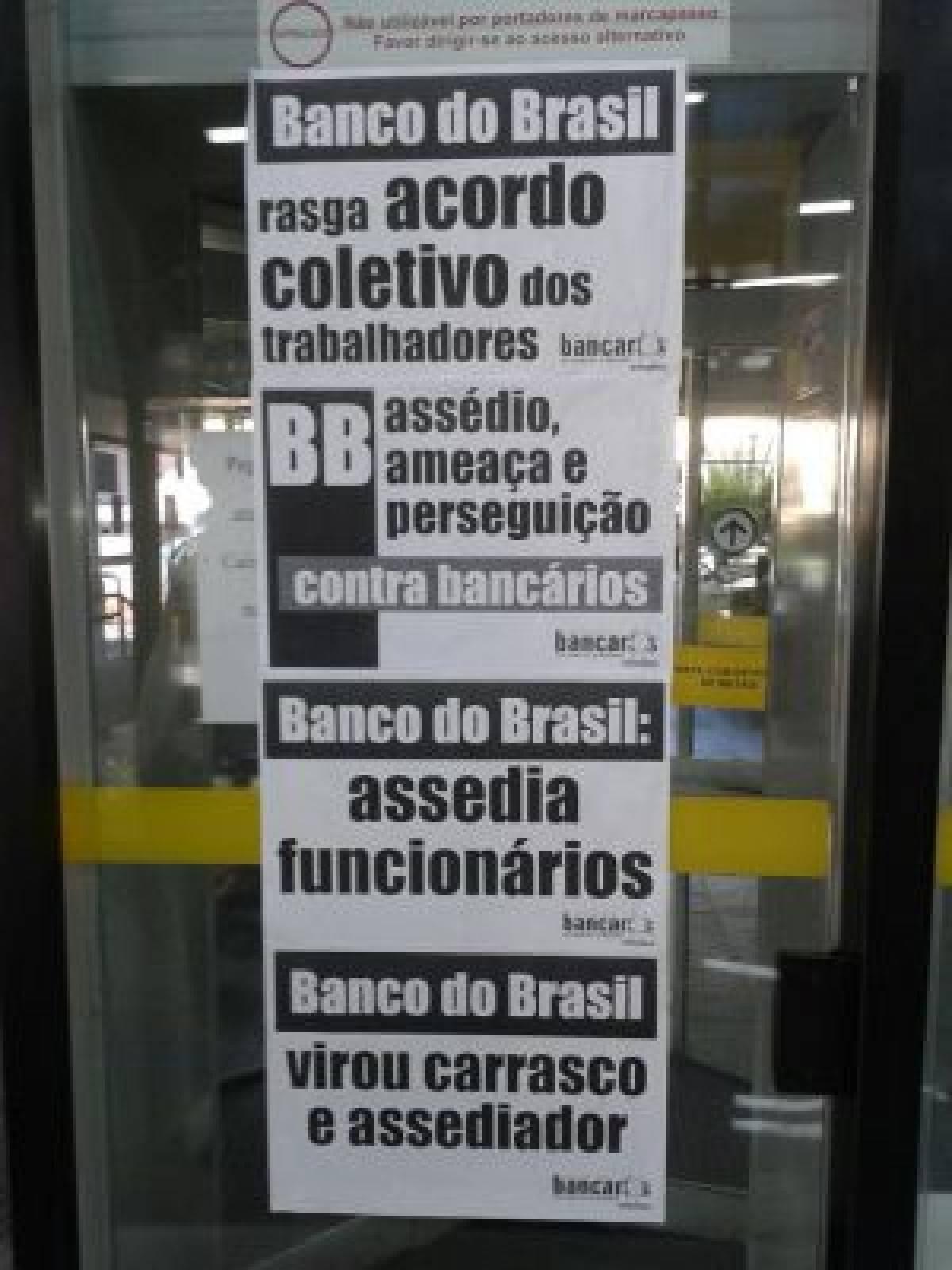 Ministério do Trabalho discute perseguições no Banco do Brasil