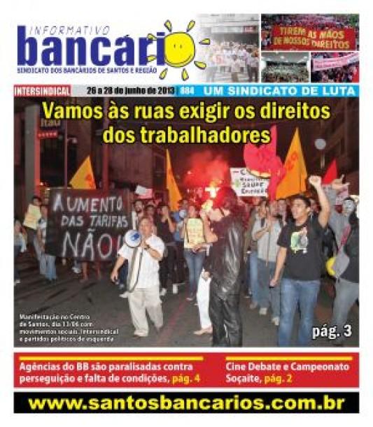 Vamos às ruas exigir os direitos dos trabalhadores