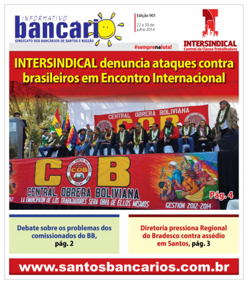 INTERSINDICAL denuncia ataques contra brasileiros em Encontro Internacional