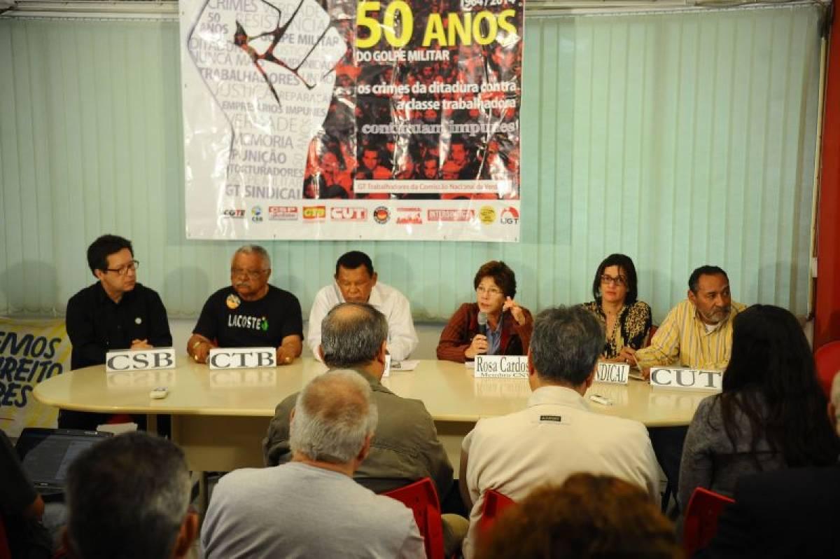 Efeitos da ditadura perduram nas condições precárias de trabalho, diz CNV