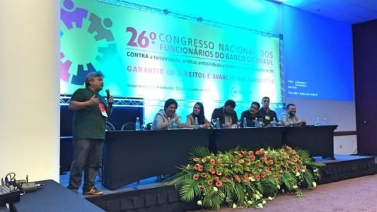 26º Congresso dos funcionários do BB já começou