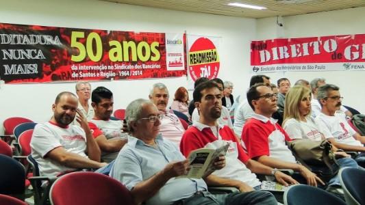 GT 13 da CNV entrega relatório sobre perseguição aos trabalhadores
