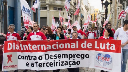 Bancários da Intersindical defendem 25,55% de reajuste
