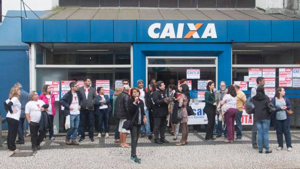 Governo pretende demitir 11 mil e privatizar parte da Caixa