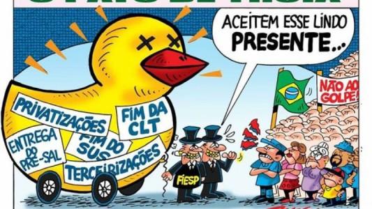 A Fiesp quer que você pague o pato