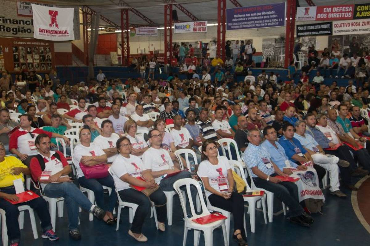 1º Congresso da Intersindical unifica luta dos trabalhadores