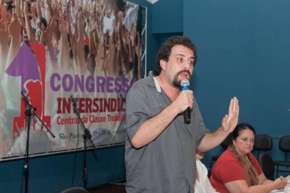 Todo apoio a Guilherme Boulos
