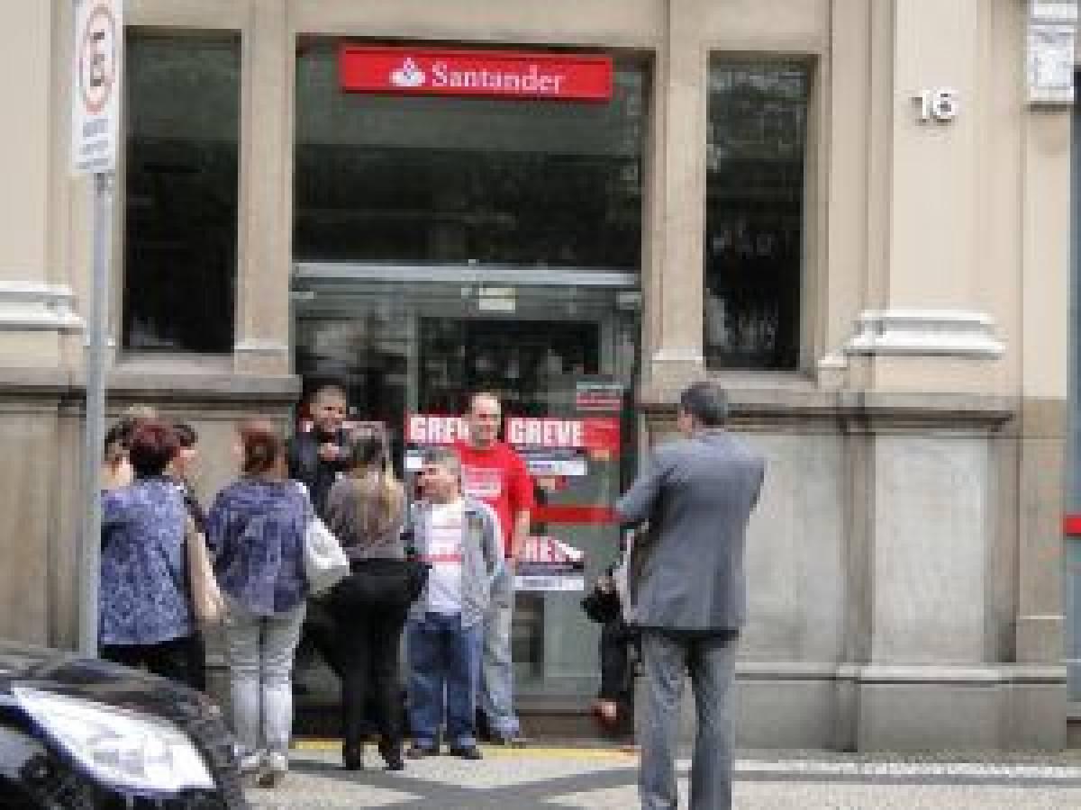 Bancários fazem a maior greve dos últimos 20 anos