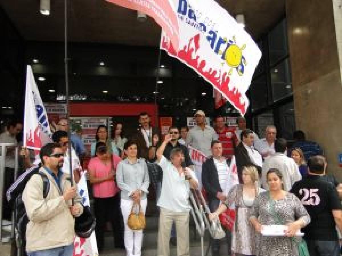 Campanha Salarial 2012: Bancários retardam abertura das agências em Santos