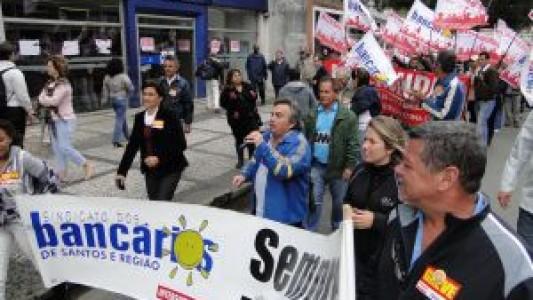 Bancos privados e BB encerram greve. CAIXA continua!