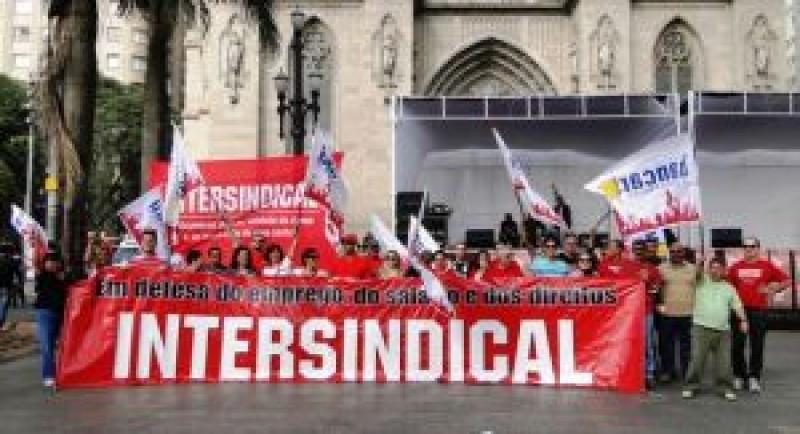 1º de maio de Luta na Praça da Sé