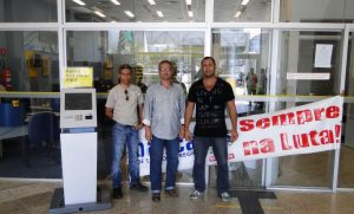 Bancários fecham agência do BB após denúncia de falta de condições de trabalho