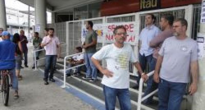 Agência do Itaú/Rangel Pestana é paralisada por falta de condições de trabalho