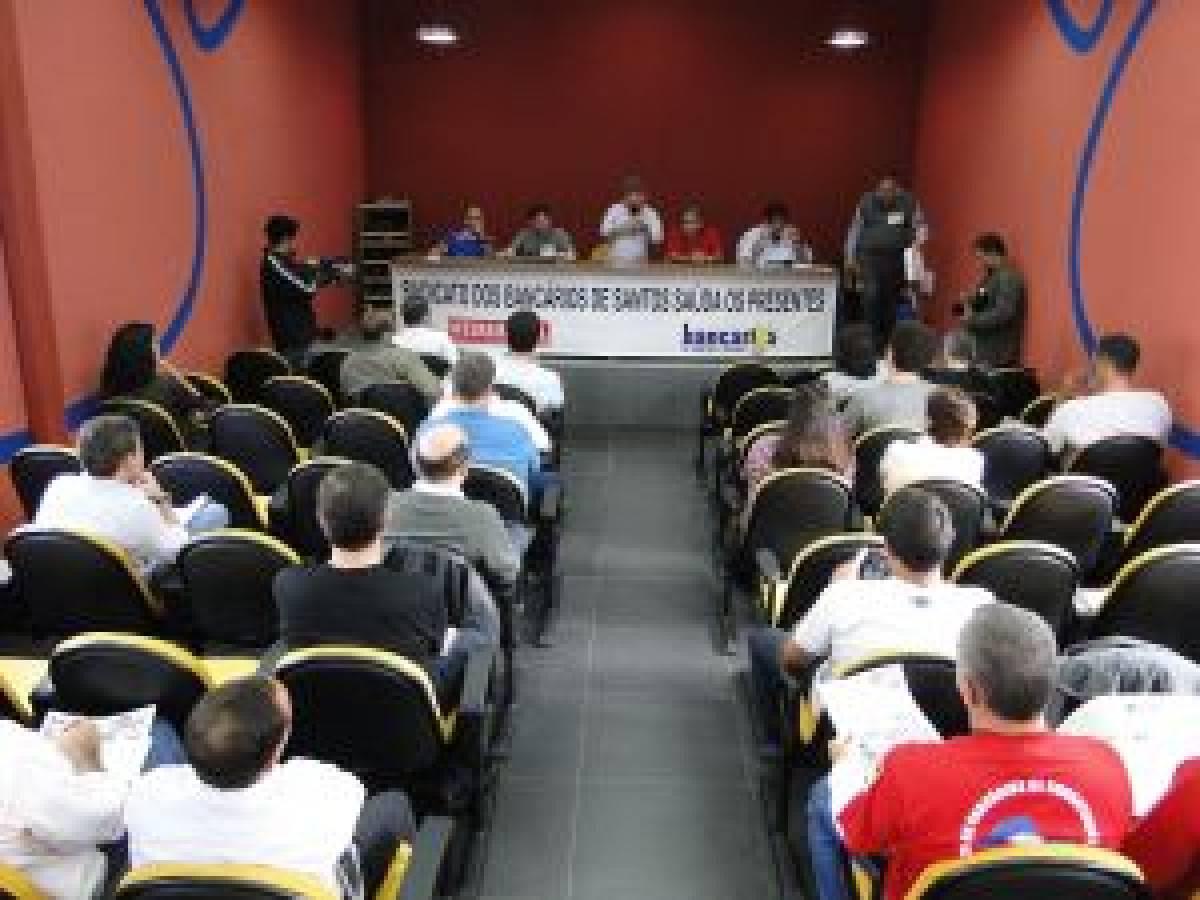 Campanha Salarial 2012: Encontro Regional da Federação dos Bancários em Santos