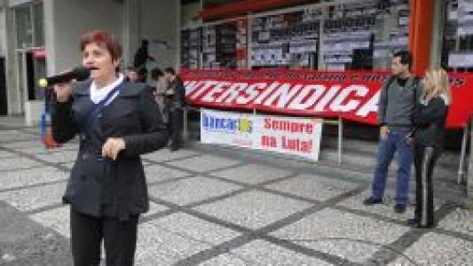 Paralisação contra demissão em massa no Itaú
