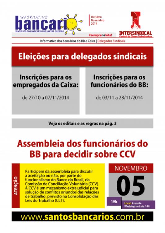 Eleições para delegados sindicais