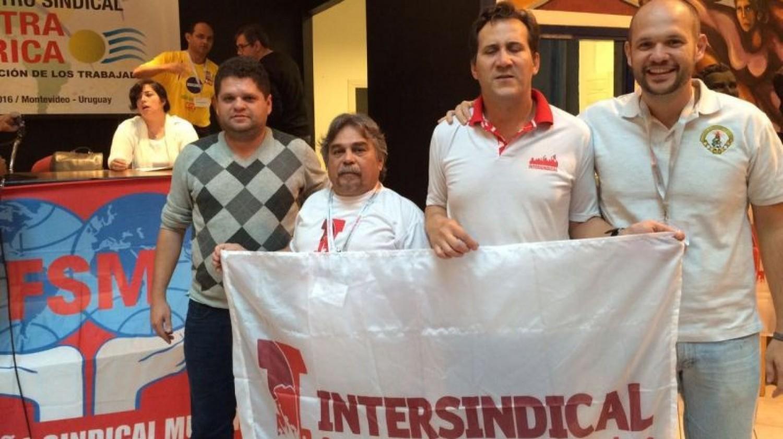 Intersindical participa do 7º ESNA, no Uruguai
