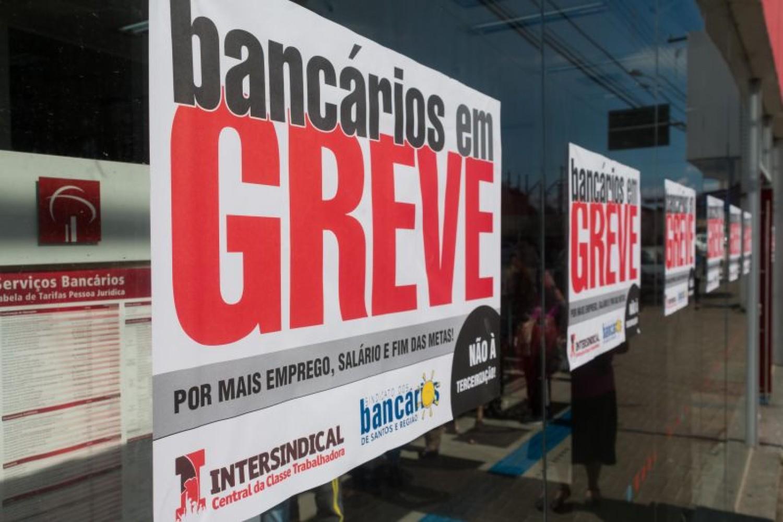 Bancários fazem a maior greve da história