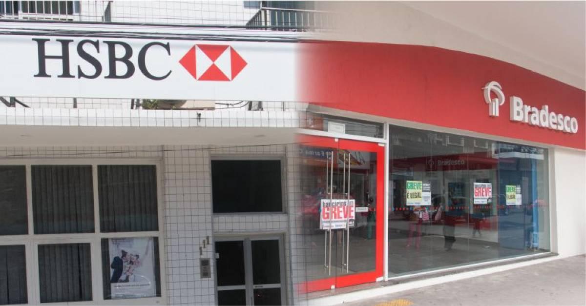 Migração do HSBC para Bradesco gera caos para bancários e clientes