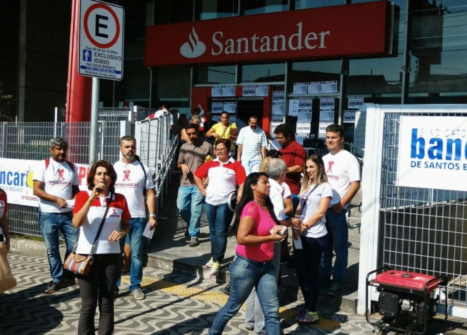 Assinado aditivo do Santander