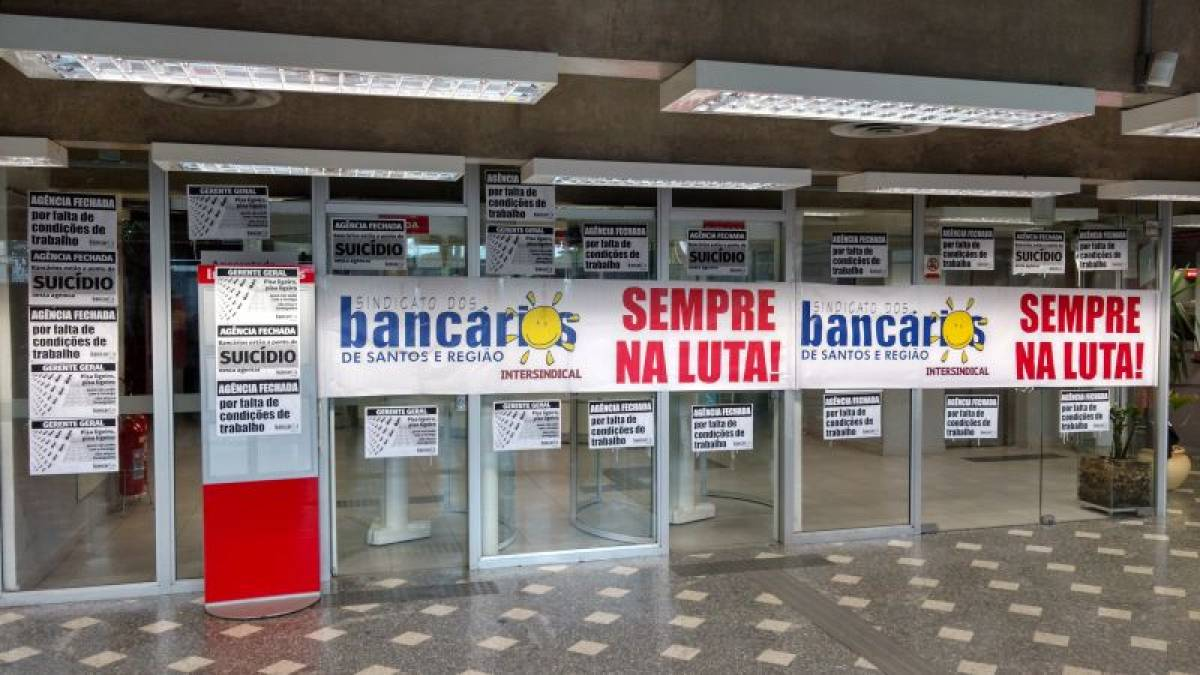 Santander SV é paralisado após demissão de bancária com depressão