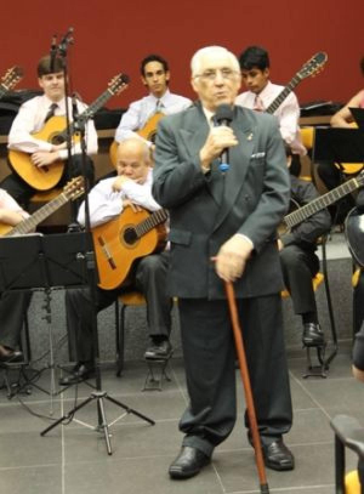 Hoje tem a Aula Inaugural da Orquestra de Violões do Sindicato