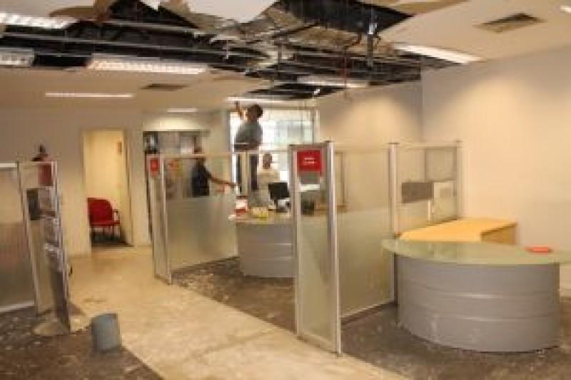 Santander: Agência Cubatão sem condições de trabalho