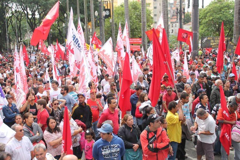 1º de maio é dia de luta da classe trabalhadora!