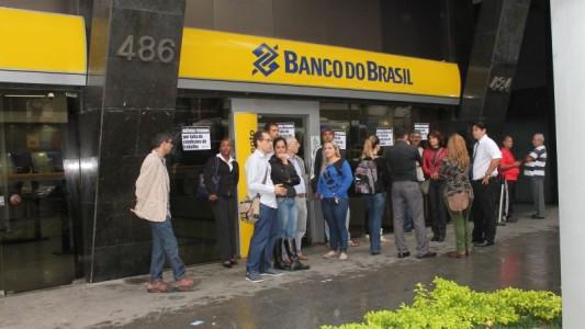 Bancários paralisam BB/Gonzaga