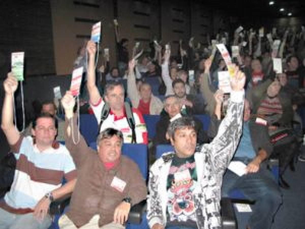 Campanha Salarial 2012: Conferência aprova 10,25% de reajuste