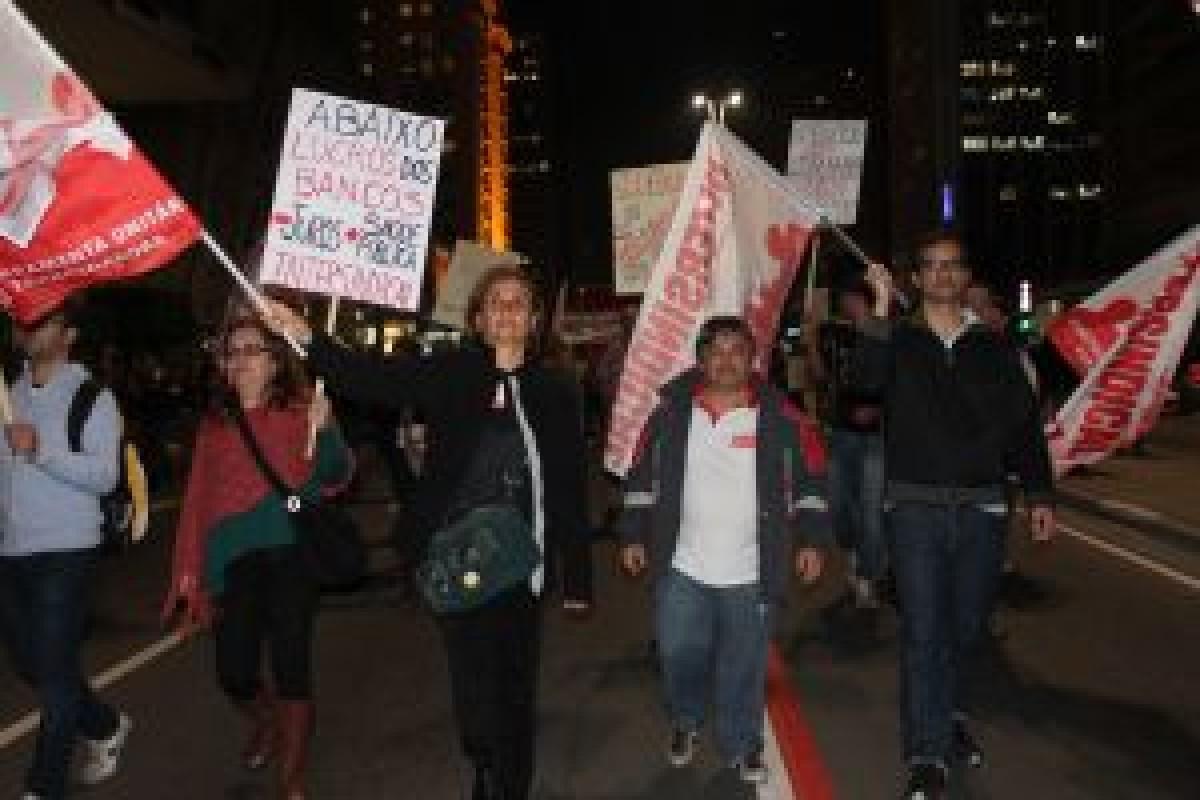 Marcha na Paulista, 03 de julho de 2013
