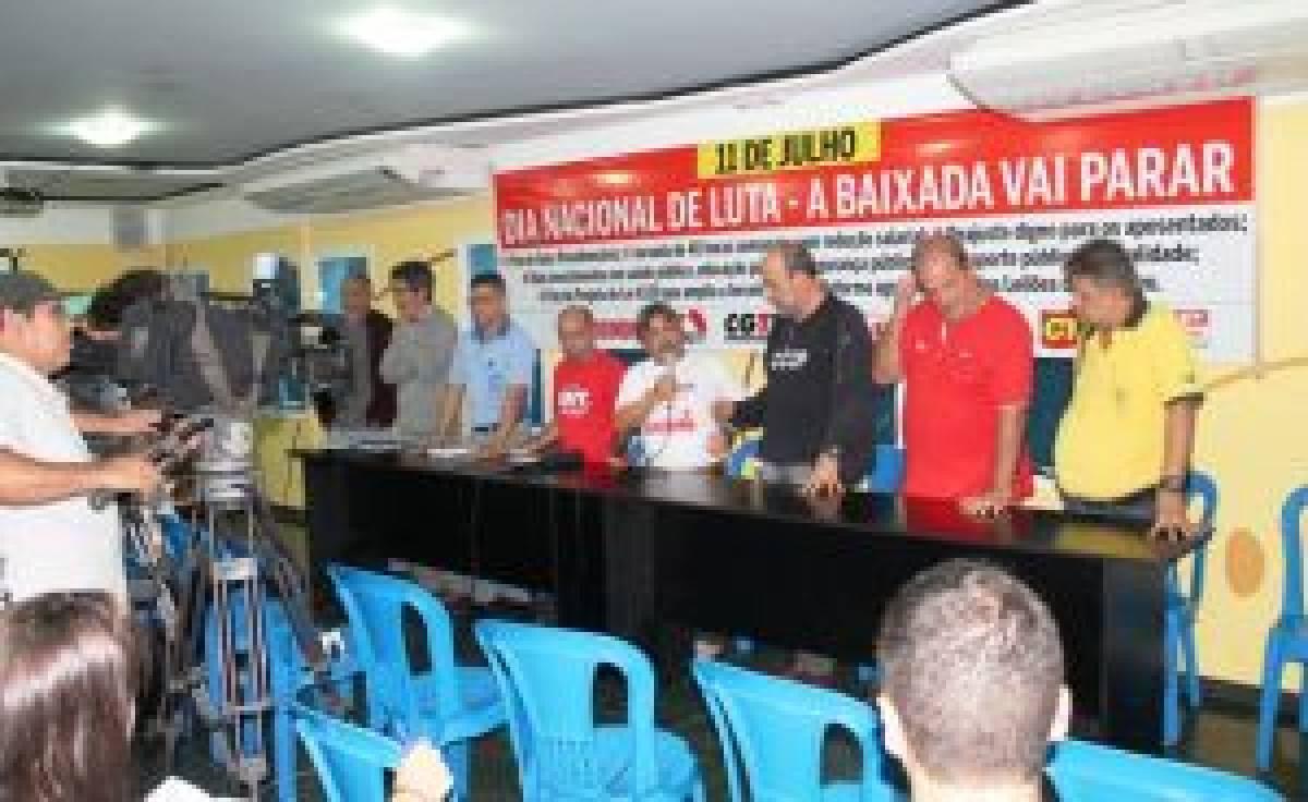 Centrais Sindicais farão Ato Unificado dia 11, na Pça Mauá, em Santos